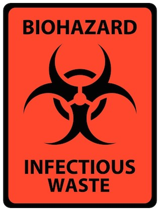 Toxic Behavior-Infectious Waste graphic