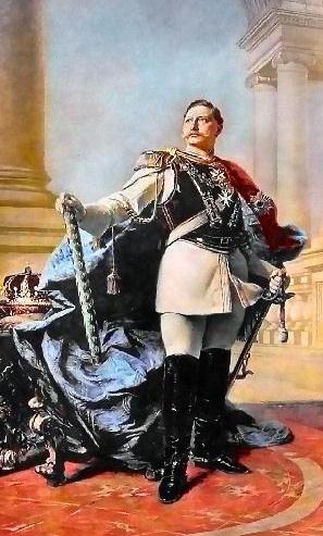 Kaiser Wilhelm official portrait
