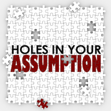 Holes in assumption small