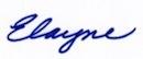 Signatures:Elayne bold