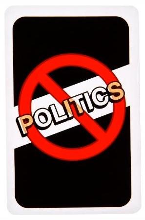 #158 No Politics